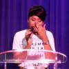La fille du pasteur KUTINO Fernando chante Ebenezer, pleure et remercie l'église du corps du Christ pour le soutien à son père..