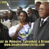 Devoir de mémoire: Exclusivité voyage d'Etienne Tshisekedi à Bruxelles