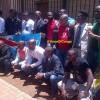 PHOTOS ET VIDÉO: 15 Combattants libérés après 21 mois en prison accusés de tentative de coup d'état contre Kabila