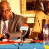 Bruno Mavungu et Felix Tshisekedi devant la Presse Internationale et de la Diaspora Congolaise