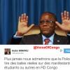 #RDC: AUBIN MINAKU explique son Tweet: «Plus Jamais nous admettrons que la Police tire des balles réelles» (VIDÉO)