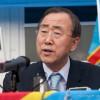 Crise politique en RDC : Ban Ki-Moon accentue la pression sur Kabila et Tshisekedi