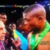 BOXE: Réaction du Champion Congolais Junior Makabu après sa Victoire face au Sud Africain Thabiso Nchunu