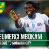 Foot-Transfert: Dieumerci Mbokani prêté pour une saison à Norwich City par le Dynamo Kiev