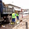 L'Hôtel de ville reprend l'évacuation des immondices à Kinshasa