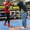 Boxe : Junior Makabu à Las Vegas en préparation du combat pour le titre de champion du monde WBC