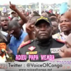 Obsèques de PAPA WEMBA: Les Kinois chantent KANYAMA Wumela , Oyo Kanisaki KANYAMA ako Kweya Waya!!!
