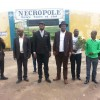 NÉCROPOLE: Baby BALUKUNA, Shaka KONGO et Délégation visitent Papa WEMBA, KESTER, Alain MOLOTO, Marie MISAMU, Pepe NDOMBE et Mabele ELISI [AUDIO]