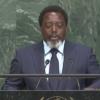 Le président J.Kabila prononce son discours devant l'Assemblée générale des Nations Unies[VIDEO]
