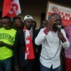 Kisangani : Devant une foule nombreuse, Billy Kambale de l'UNC dit non à la machine à voter