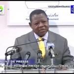 LAMBERT MENDE s'attaque a l'opposition sur la concertation National et la revision de la constitution