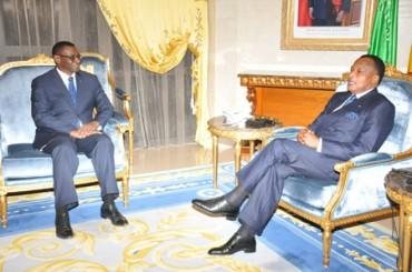 Albert Moleka reçu en audience par le président Sassou N'Guesso