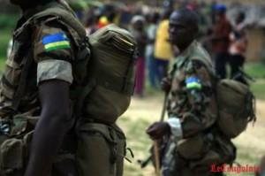 Rwandais-Soldats