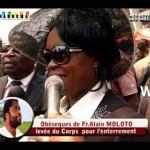 Exclusivité: L'Enterrement et Témoignage de la femme d'Alain Moloto