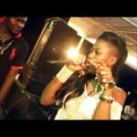 Djino Equalizer feat. Claudia Bakisa dans Cherie enlevée live au Mayi ya Pembe