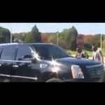 Toronto: Un combattant congolais brise la vitre de la voiture de Paul Kagame