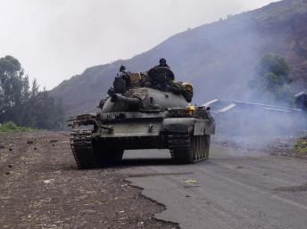 Tension à la frontière entre l'Angola et le Congo-Brazzaville suite aux incursions de militaires angolais dans le sud-ouest du Congo le mardi 15 octobre 2013. REUTERS/Kenny Katombe