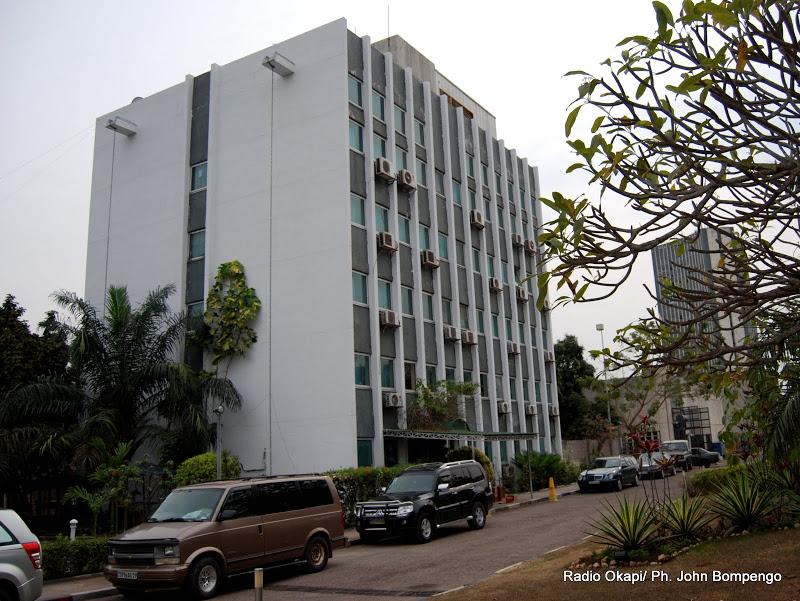 Hôtel investe de la Rtnc. Radio Okapi/Ph. John Bompengo