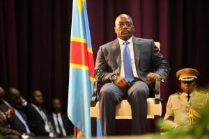 Le président de la RDC, Joseph Kabila à la cérémonie de clôture des concertations nationales, le 5 octobre 2013. Photo Monuc/M. Asmani.