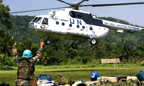 Un hélicoptère de la Monuc (archives)