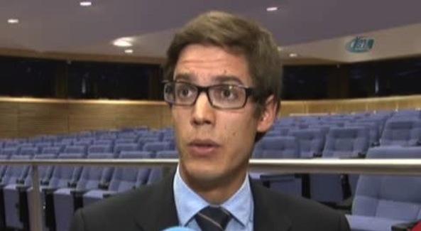 Sébastien Brabant, porte-parole du service diplomatique de l'Union européenne (UE).