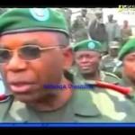 Général Didier Etumba visite les zones libérées de la rébellion du M23