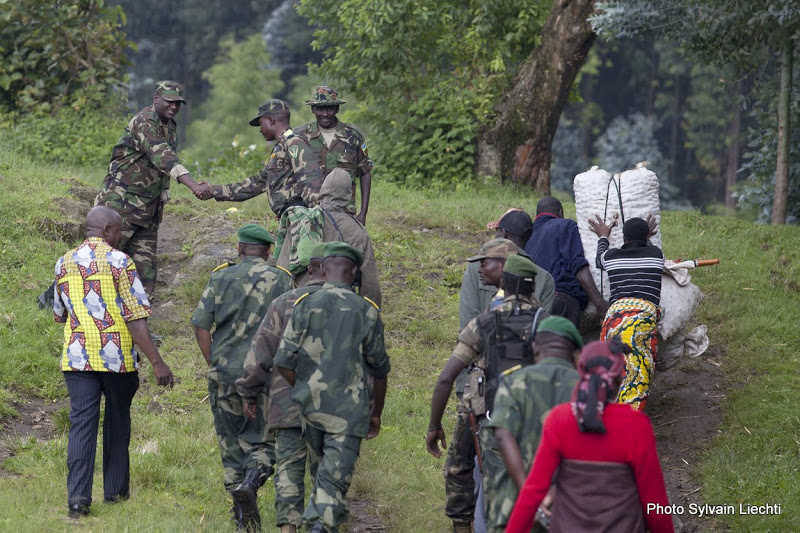 Voir dans Picasa Des officiers des FARDC sillonnent la zone frontalière avec le Rwanda où des militaires congolais et rwandais se sont tirés dessus le 3 novembre 2012 (Photo Sylvain Liechti). © MONUSCO/Sylvain Liechti Image 1 of 1 Voir dans Picasa Des officiers des FARDC sillonnent la zone frontalière avec le Rwanda où des militaires congolais et rwandais se sont tirés dessus le 3 novembre 2012 (Photo Sylvain Liechti). © MONUSCO/Sylvain Liechti