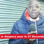 Albert Mukendi appelle à la mobilisation totale de la diaspora contre JB Mpiana le 21 Decembre 2013