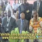 Etienne Tshisekedi au Palais du Peuple afin de rendre un dernier hommage à Tabu Ley. REGARDEZ !