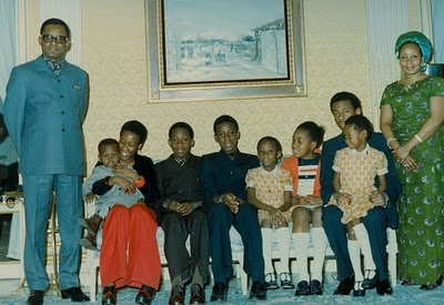 famille Mobutu