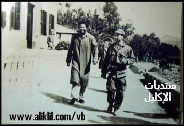 [Photo n°2] Mandela et un officier algérien