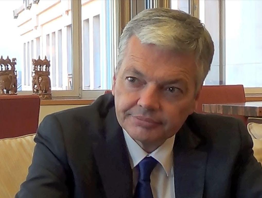 Grand entretien avec de Didier Reynders sur la situation et les derniers evenements en RDC (À suivre absolument)