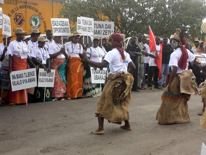 Les femmes de la RD Congo célèbrent la journée internationale de la femme ce 8 mars 2011 à Goma. C'était lors du lancement de pont entre les femmes Congolaises et Rwandaises