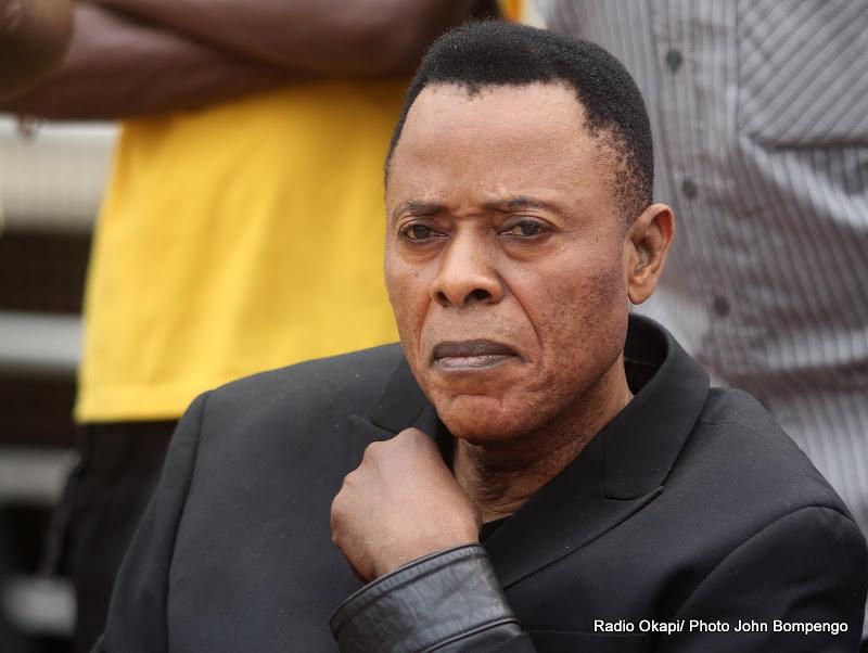 King Kester Emeneya. Radio Okapi/ Ph. John Bompengo