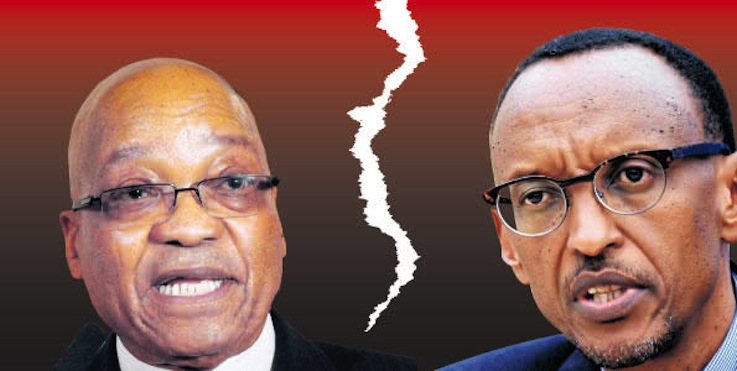Zuma and Kagame