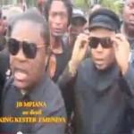 Exclusif ! L'arrivée de l'Artiste Papa Cheri JB MPIANA au DeuiL de KING KESTER EMENEYA