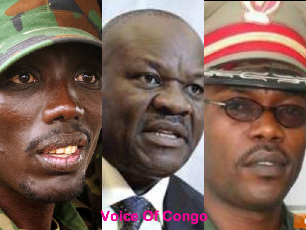 Makenga, Lumbala et Tshibangu