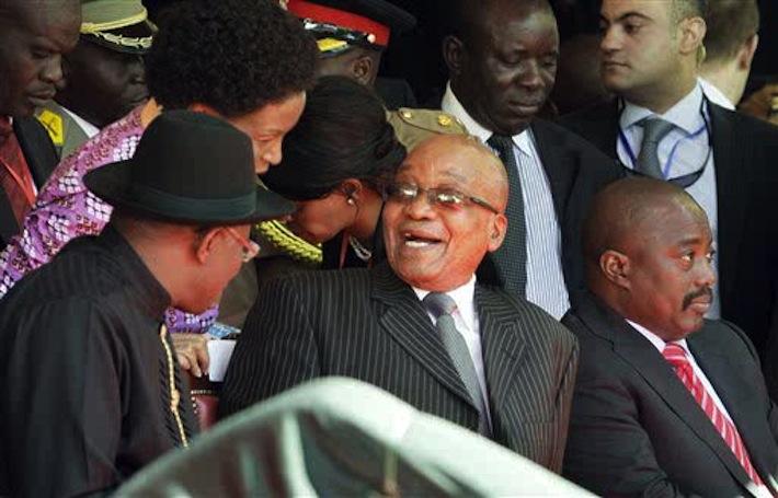 Kabila et Zuma