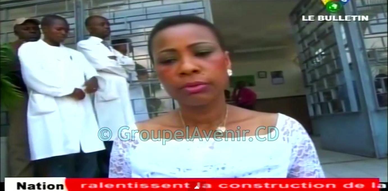 Madame Olive Lembe Kabila fait soigner plus de 1000 patients par des Chirurgiens Espagnols