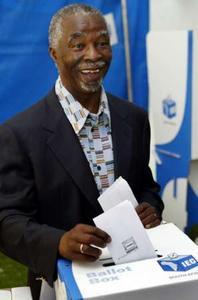 mbeki-casting-vote-april-2004
