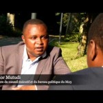 Alidor Mutudi du M23 : Sultani Makenga et Bosco Ntaganda sont «congolais» et reclame le respect des accords signés par Kinshasa