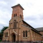 Eglise saint Anne de la Gombe. Radio Okapi/ Ph. John Bompengo