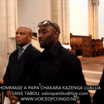 L'Exposition du corps de Chakara Kazenga Lualua à Londres