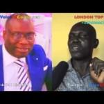 Chaka Congo dans London Top Dedi explique l'affaire Mosaka-Koffi Olomidé et  Fally Ipupa prend en charge Eric Tutsi