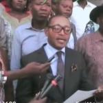 Déclaration de la direction politique de l' UNC/KAMERHE en rapport du Gouvernement de Matata 2