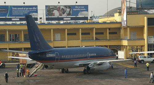 avion aeroport Ndjili