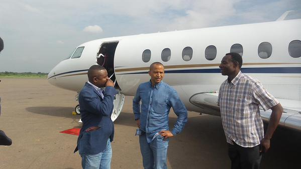 Moise Katumbi off to UK