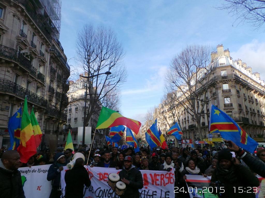 manifestation à paris6