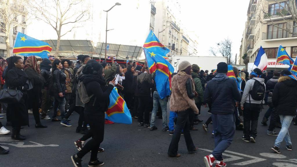 manifestation à paris8