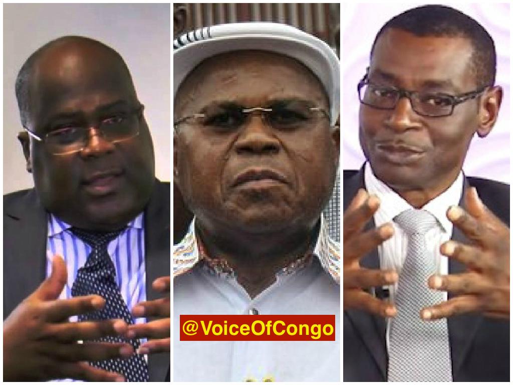 Felix, Tshisekedi et Moleka